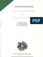 Primeros Pobladores de La Baja California