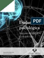 Evaluacion Psicologica. Lecciones Introductorias
