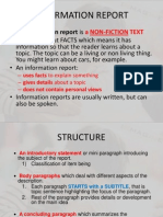 Report Writing Paragraph Structure TOP