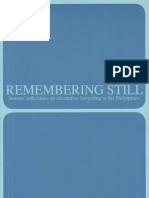 Remembering Still - Interns Reflection on Alternative Lawyering in the Philippines