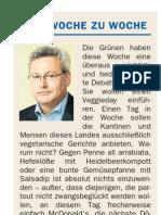"""10.8.2013 DNN Kolumne """"Von Woche Zu Woche"""""""