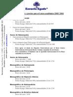 Naturopatia Quiromasaje Quiropraxia Fitoterapia Precios 2003 2004