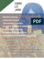 Informe Sobre El Desarrollo Humano 2000