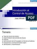 Introducción al Control de Acceso