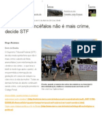 Aborto de anencéfalos não é mais crime, decide STF - Terra Brasil