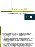 Introduction to JSTL