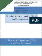 Aula Teorica Sobre o Modelo is-LM Em Economia Aberta (2)