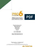 PRO6 Control Centre Manual CCM En