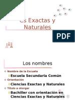 Orientación Cs Naturales. Recibido 27/5