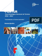 Plan Estrategico Turismo Peru Pentur 2021