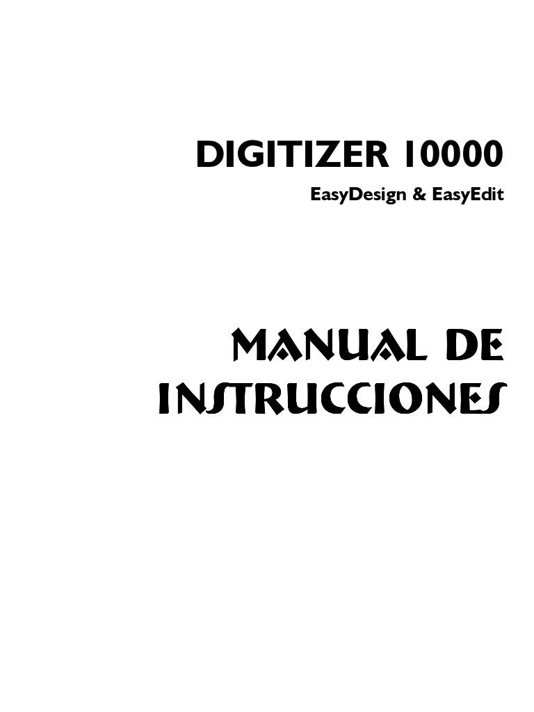 Manual Digitalizer 10000