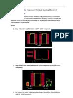 Component Minimum Distance Checklist