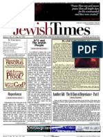 Jewish Times - Volume I,No. 30...Aug. 30, 2002
