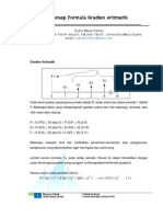 Konsep Formula Gradien Aritmatik Dalam Ekonomi Teknik