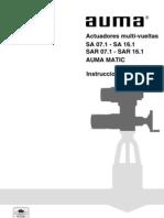 Auma SA With Matic Controls - Spanish
