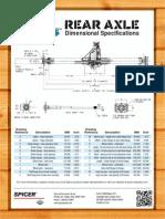 Dana 44 Rear Crate Axle Dimensions