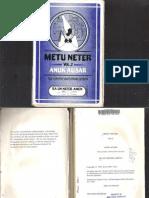 Metu Neter Volume 2 by Ra Un Amen Nefer SMALLER