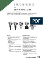 Prosonic m Fmu40