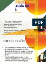 Tecnologias de Grupo Clasificacion y Codificacion