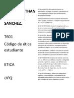 Codigo etica AJMS