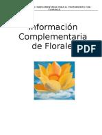 Informacion Complementaria de Florales