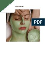 Mascarilla contra acné