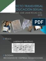 PROYECTO TRANSVERSAL DE EDUCACIÓN SEXUAL