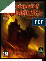 D&D 3rd Edition - Master Class - The Unholy Warrior's Handbook