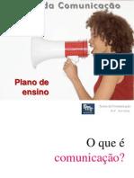 Teoria da Comunicação_Plano de Ensino