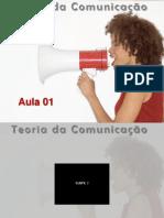 Teoria da Comunicação_Aula 01