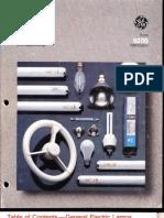 GE 1985 Lamp Catalog