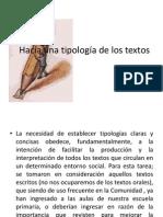 Tipologia de Los Textos