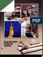 GE 1987 Lamp Catalog