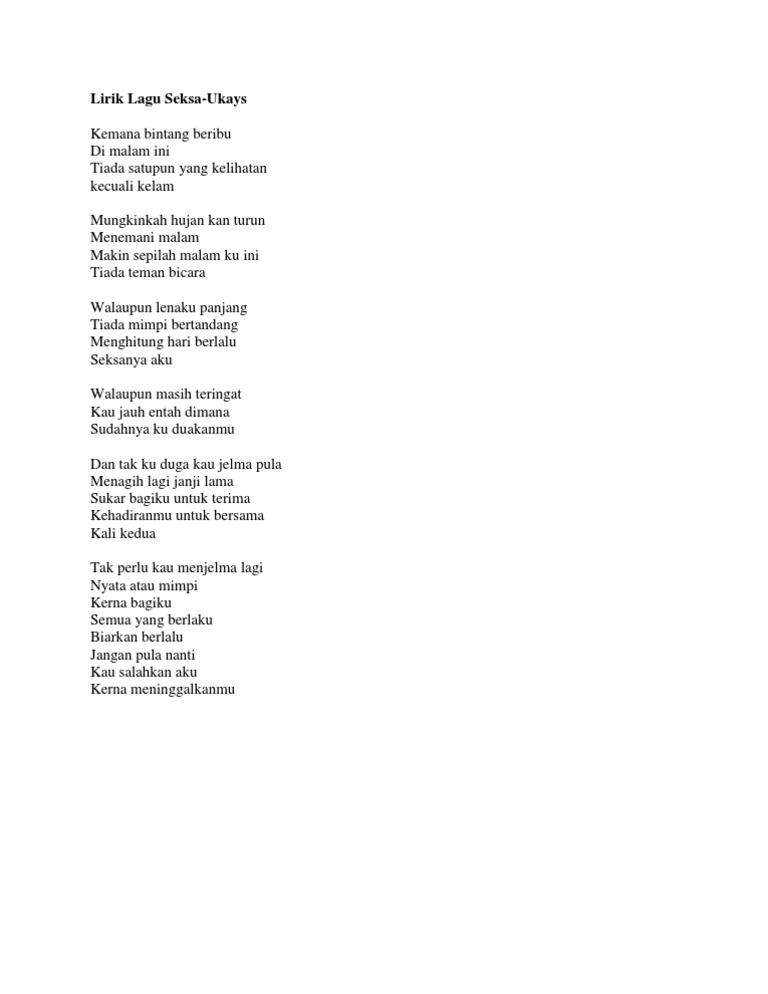Lirik Lagu Kehadiranmu