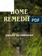 Home Remedies by Sri Swami Sivananda Saraswati
