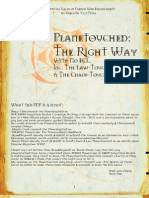 D&D 3rd Edition - The Quintessential Planetouched