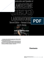 The Construction & Operation of Clandestine Drug Laboratories (2nd Edition Revised & Expanded) by Jack B Nimble l