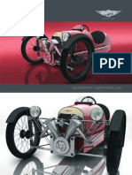 Pedal Car Brochure and Postcard Reduced