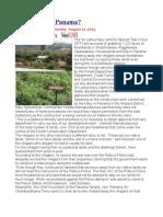 Land Grab at Panama