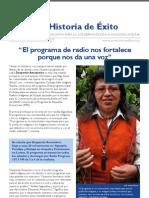 Historia de Exito Segundina Cumapa
