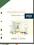 GE Residential Structural Lighting Brochure 1960