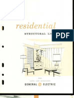 GE Residential Structural Lighting Brochure 1960