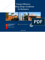 Energy Efficiency Building Design Guidelines for Botswana