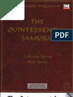 D&D 3rd Edition - The Quintessential Samurai