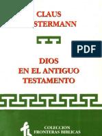 Westermann, C., Dios en El At