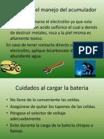 Mantenimiento de Bateria