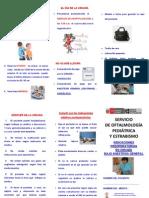 12. Indicaciones Preoperatorias en Cirugia Bajo Anestesia General - Estsrabismo