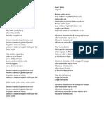 Testi Canzoni (2)