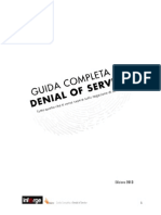 Guida Completa Al Denial of Service (DoS, DDoS, DrDoS)