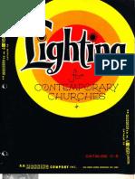 Manning Contemporary Church Lighting Catalog C8 4-75